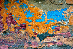Grungy Concrete Old Texture Wallの写真素材 [FYI00644052]