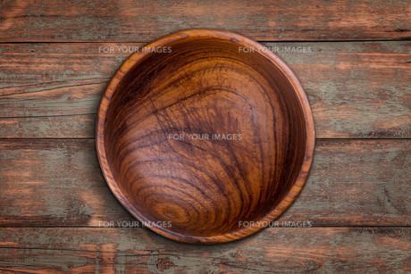 Wooden bowlの写真素材 [FYI00644279]
