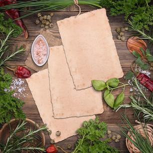 Culinary greensの写真素材 [FYI00644284]