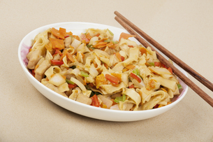 Chinese Fried Rice Noodles or Chaofen as it is known in Chinaの写真素材 [FYI00644426]