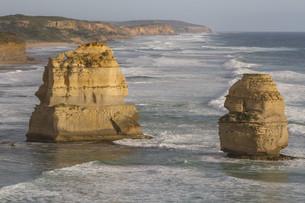 Twelve Apostles on Great Ocean Road, Australia.の素材 [FYI00644546]
