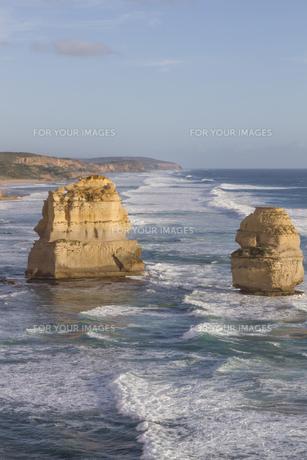Twelve Apostles on Great Ocean Road, Australia.の素材 [FYI00644555]