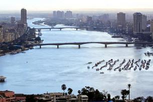 Nile River Cairoの写真素材 [FYI00644566]