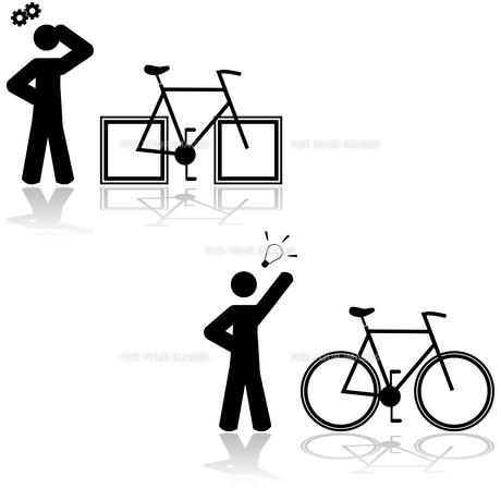 Bicycle problemの素材 [FYI00644567]