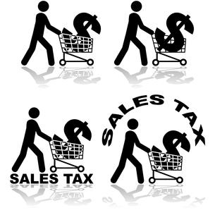 Sales taxの写真素材 [FYI00644579]