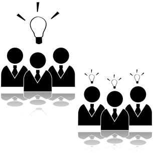 Team ideaの写真素材 [FYI00644581]