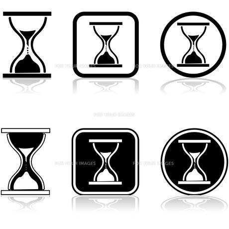 Sandglass iconの素材 [FYI00644583]