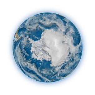 Antarctica on planet Earthの写真素材 [FYI00644778]