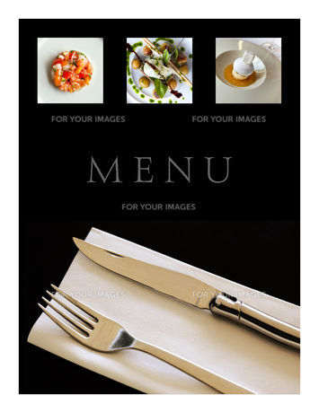 Restaurant menuの写真素材 [FYI00644797]