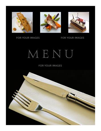 Restaurant menuの写真素材 [FYI00644800]