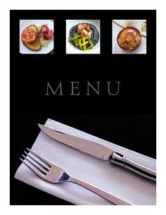 Restaurant menuの写真素材 [FYI00644805]