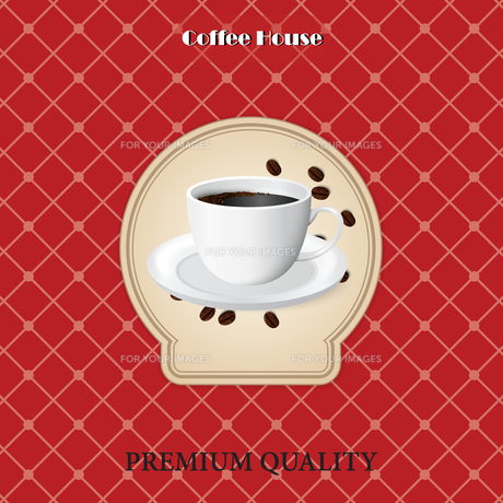 menu for coffee in vintageの写真素材 [FYI00644836]