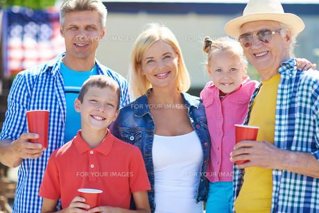 Happy generationsの写真素材 [FYI00644931]