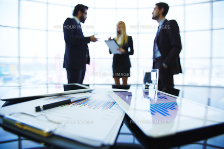Business documentsの写真素材 [FYI00644938]