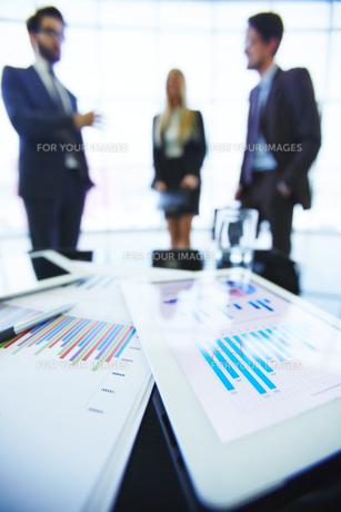 Business dataの写真素材 [FYI00644940]