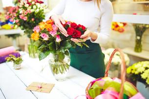 Beautiful rose bouquetの写真素材 [FYI00644977]