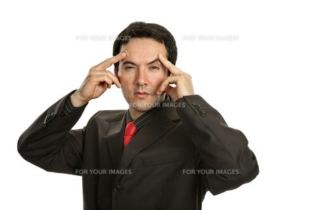 headacheの写真素材 [FYI00645102]