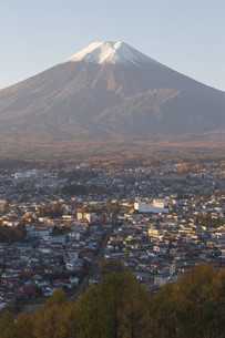 Mt.Fuji in autumn, Japanの写真素材 [FYI00645110]