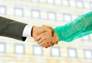 handshakeの素材 [FYI00645112]