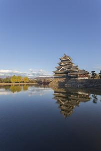 Matsumoto Castle, Japanの写真素材 [FYI00645113]