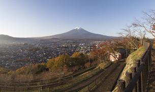 Mt.Fuji in autumn, Japanの写真素材 [FYI00645114]