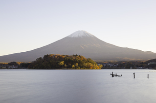 Mt.Fuji in autumn, Japanの写真素材 [FYI00645117]