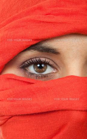 woman eyeの素材 [FYI00645136]