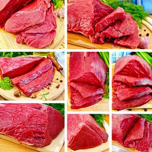 Meat beef setの写真素材 [FYI00645237]
