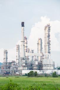 Oil Refinery Plantの写真素材 [FYI00645324]
