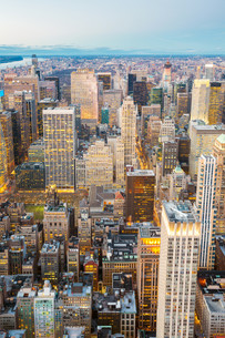 New York City Aerialの写真素材 [FYI00645326]