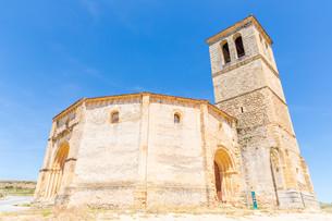 Veracruz Church Segovia Spainの写真素材 [FYI00645337]