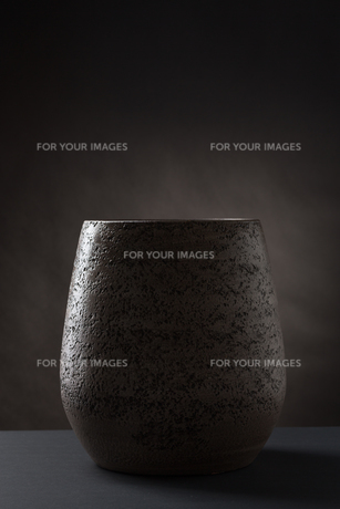still life vase darkの写真素材 [FYI00645360]
