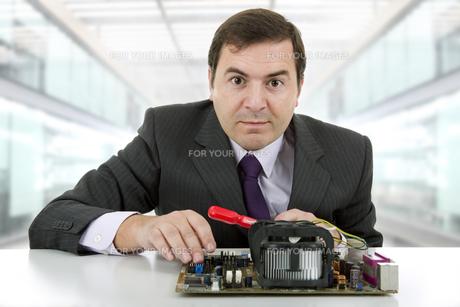 motherboardの写真素材 [FYI00645421]
