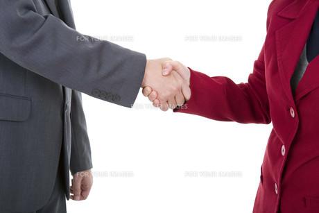 handshakeの写真素材 [FYI00645426]