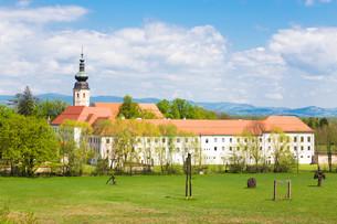 Monastery Kostanjevica na Krki, Slovenia, Europe.の写真素材 [FYI00645535]