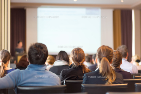 Audience in the lecture hall.の写真素材 [FYI00645578]
