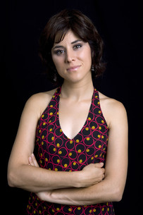brunetteの写真素材 [FYI00645614]