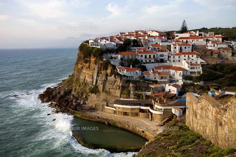 Azenhas do Marの写真素材 [FYI00645683]