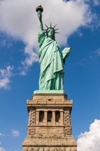 Statue of Liberty in New York, USAの写真素材 [FYI00645689]