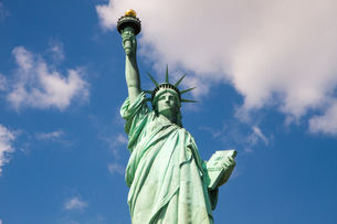 Statue of Liberty in New York, USAの写真素材 [FYI00645690]