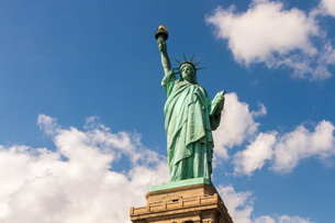 Statue of Liberty in New York, USAの写真素材 [FYI00645693]