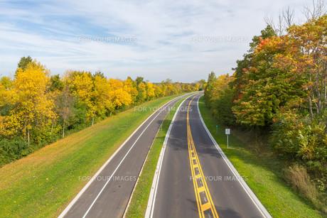 Niagara Falls in autumn, USAの写真素材 [FYI00645724]