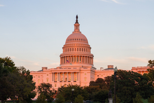 US Capital building in Washington DC, USAの写真素材 [FYI00645728]