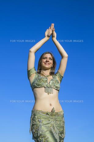 belly danceの写真素材 [FYI00645729]