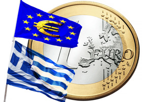 greece and european unionの写真素材 [FYI00645869]