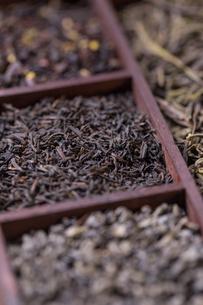 Dry tea in boxの写真素材 [FYI00645896]