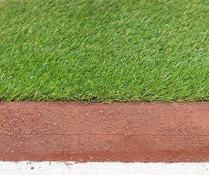 Synthetic grassの写真素材 [FYI00646090]
