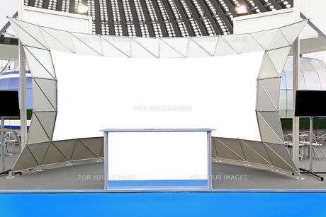 Trade show displayの写真素材 [FYI00646097]