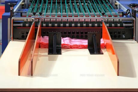 Bag making machineの写真素材 [FYI00646101]
