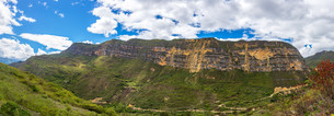 Panorama Landscape near Chachapoyas, Peruの写真素材 [FYI00646108]